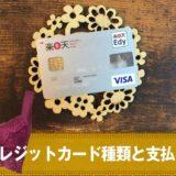 ふんわりルームブラで使えるクレジットカード種類と支払い回数は?