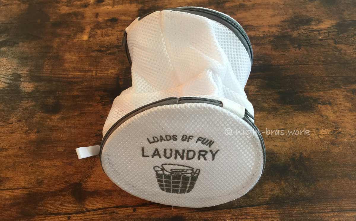 洗濯ネットは小さめが良い
